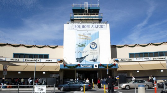 Bob Hope Airport Is Dedicated