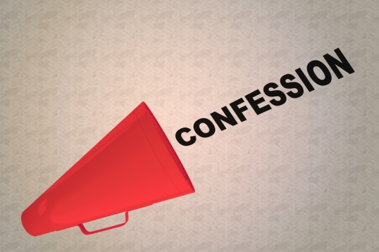 CONFESSION - declarative concept